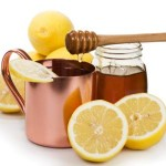 Hot Honey and Lemon Drink for the Flu
