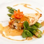 Marsala Chicken with Asparagus