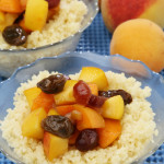 Steamed Couscous with Fruit