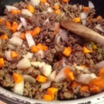Beef and Carrot Crackslaw