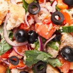 Colourful Tuscan Bread Salad