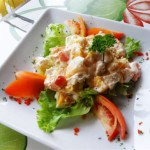 Exotic Mango and Chicken Salad
