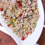 How to Make Rice Salad
