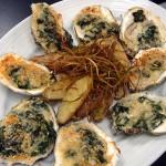 Oysters in Chive Sauce Recipe
