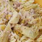 Tasty Tuna Pasta Salad with Artichokes
