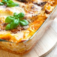 Lasagna with Ricotta and Sausage
