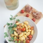 Gnocchi with Cherry Tomatoes and Proscuitto
